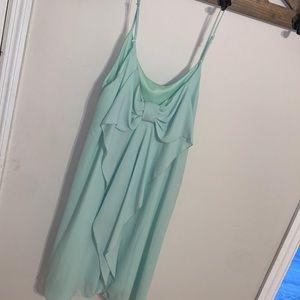 Womens Mint Boutique Bow Back Dress Sz M